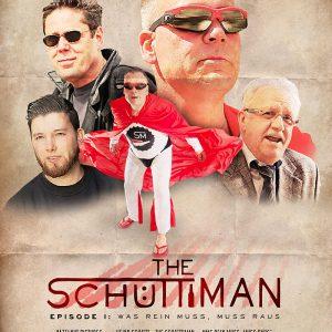 Filmposter »The Schüttiman – Episode I: Was rein muss, muss raus«