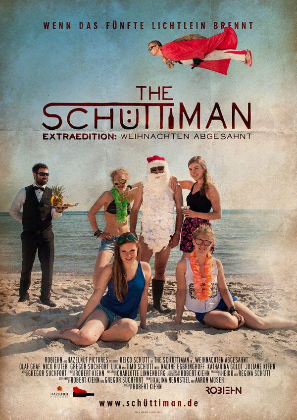 Filmposter »The Schüttiman – Extraedition: Weihnachten abgesahnt«