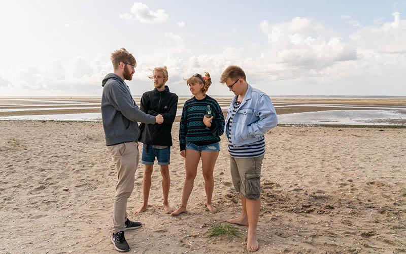 Produktion von »Hartmut hat das Meer geklaut«