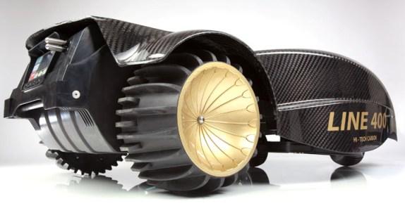 Ambrogio L400B med store hjul for godt grep