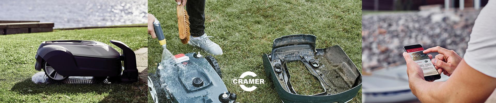 Den smarte Cramer Robotplæneklipper hos robotleje.dk