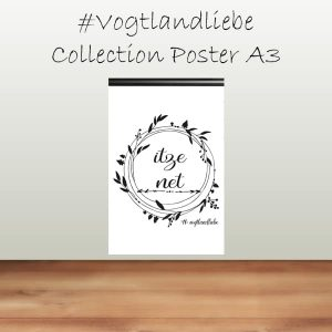 Poster A3 #Vogtlandliebe