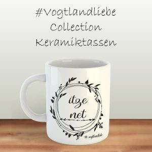 Keramiktassen #Vogtlandliebe