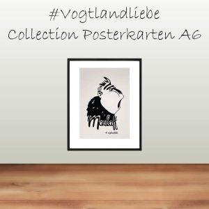 Postkarten A6 #Vogtlandliebe