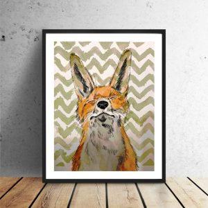 karte_happy_fox