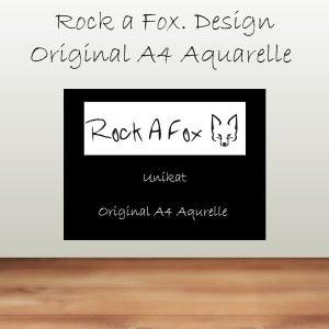 Original A4 Aquarelle (Unikate)