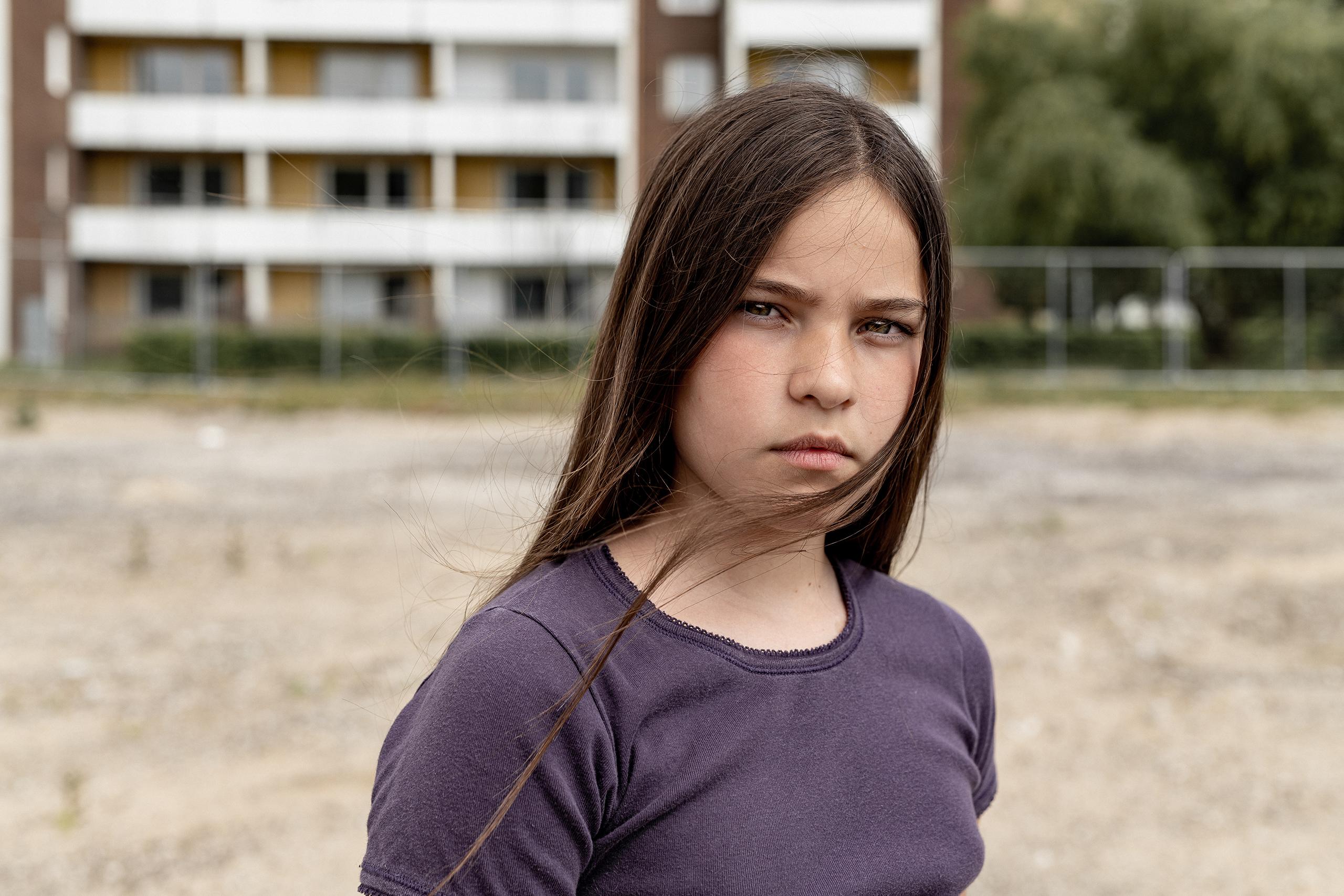 Skåne Stadsmission, Portrait, Girl, Summer, School, City, Life