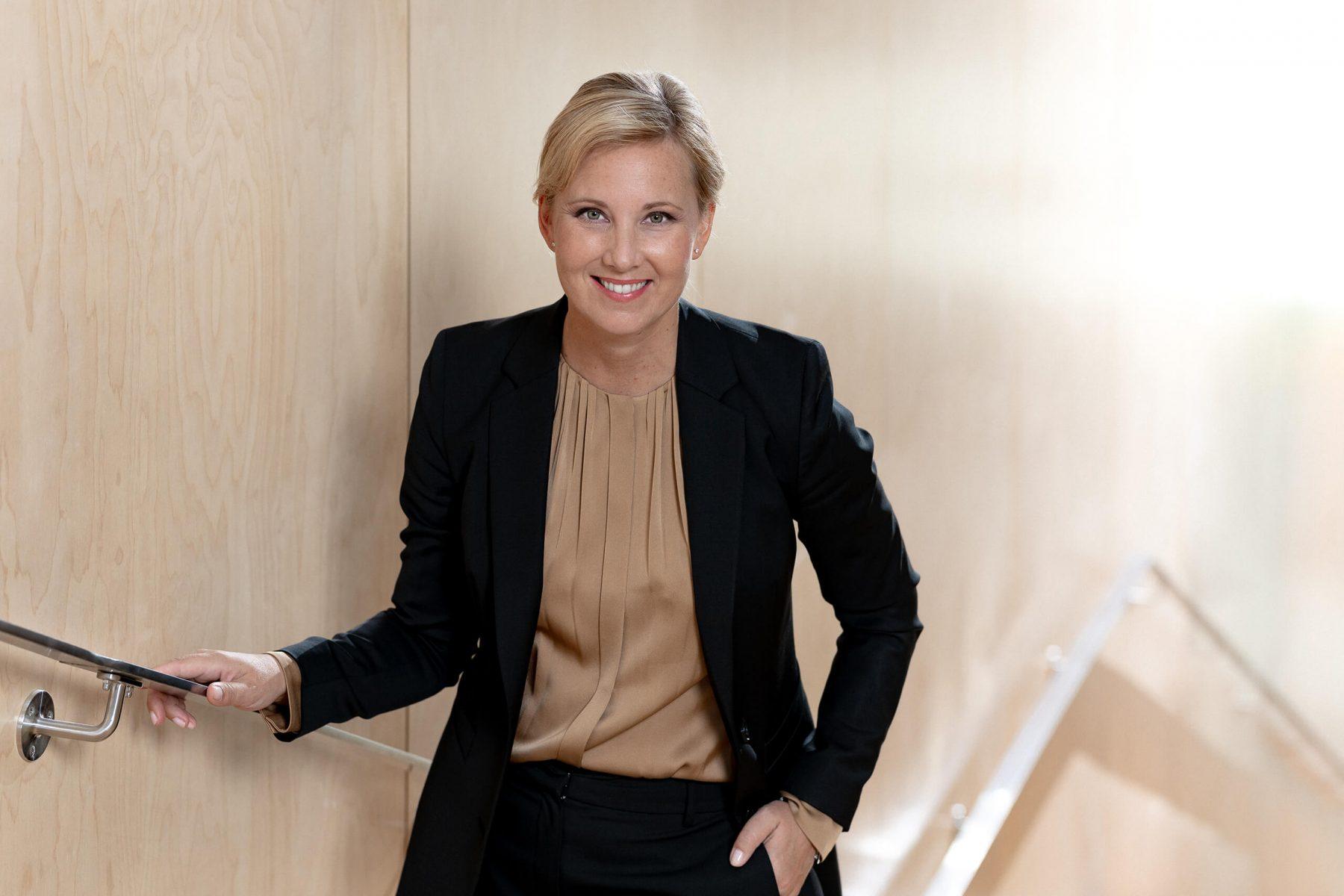 Portrait of Hanna Sjöström GPX Medical