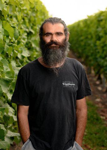 Portrait of Klagshamn vineyard owner