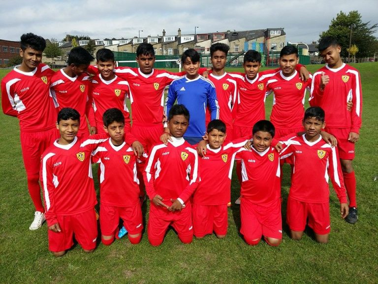 Rohingya Sporting Club UK( Photo Thestateless.com)