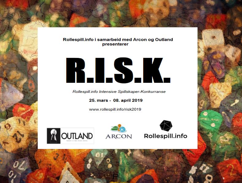 R.I.S.K. 2019 starter mandag 25. mars