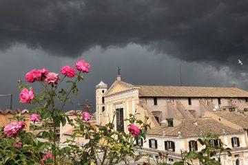 Cielo Nero su Roma - RomaOra