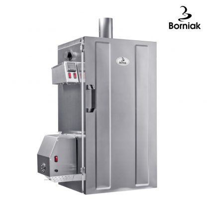 Borniak rook oven 150 liter roestvrij staal