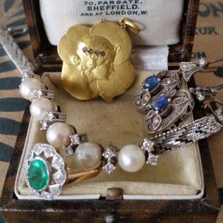 Antieke gouden sieraden bijzonder / overig