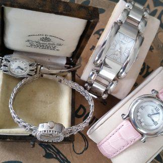 (Gouden) horloges en luxe artikelen dames