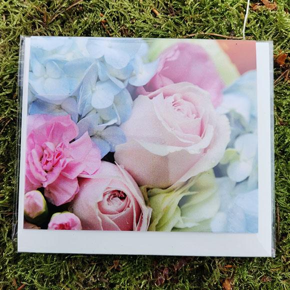 Rosenwalzer Floristik Grußkarte Blumen