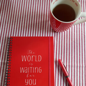 Mugs and Notebooks