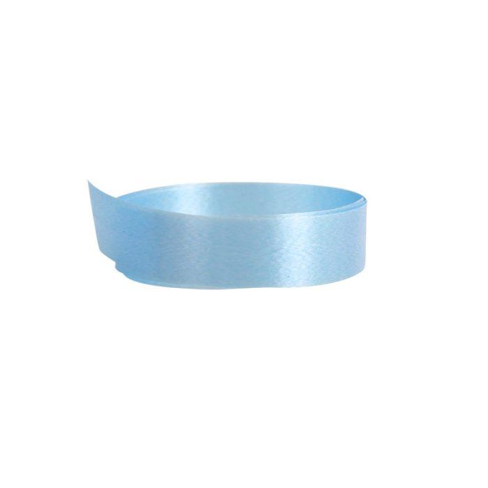 Vackert presentband som säljs som metervara i en härligt blå färg som påminner om himlen