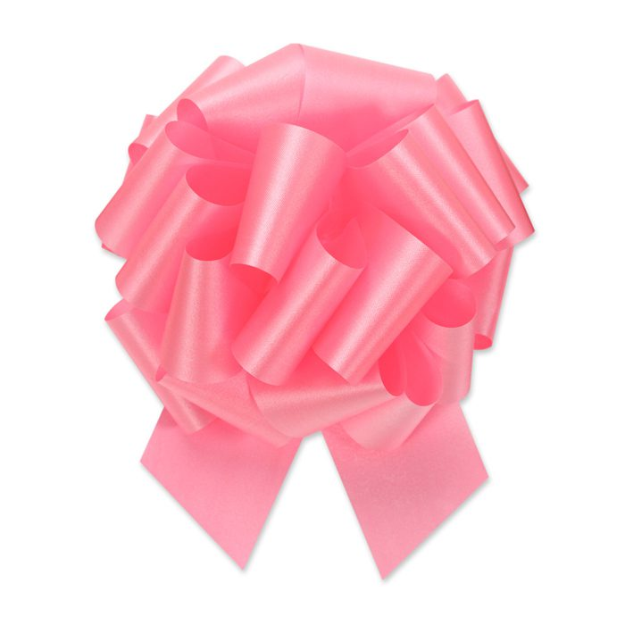 En maffig vacker rosa rosett hela 20 cm i diameter