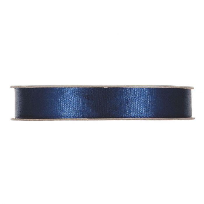 Satinband Blå En rulle med satinband