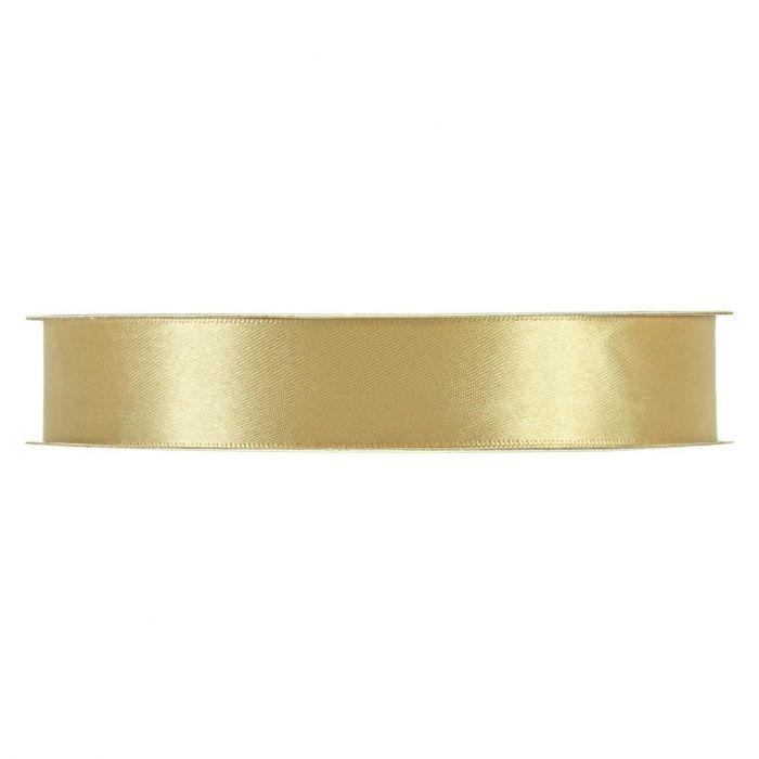 Satinband Guld En rulle med satinband