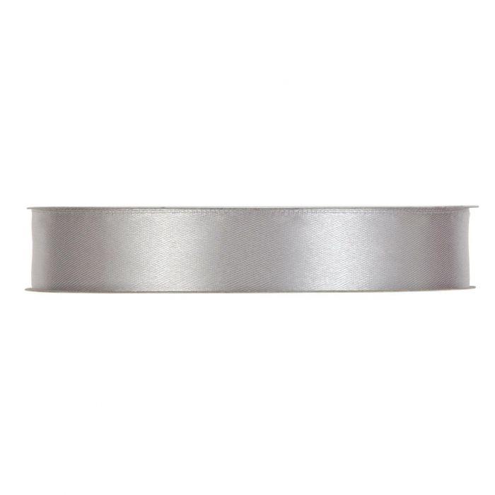 Satinband Silver En rulle med satinband