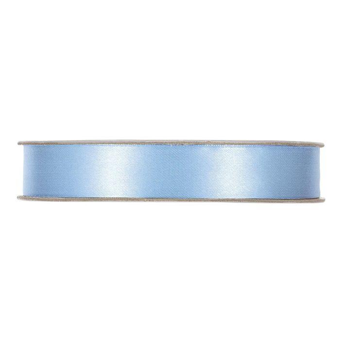 Satinband Ljusblå En rulle med satinband