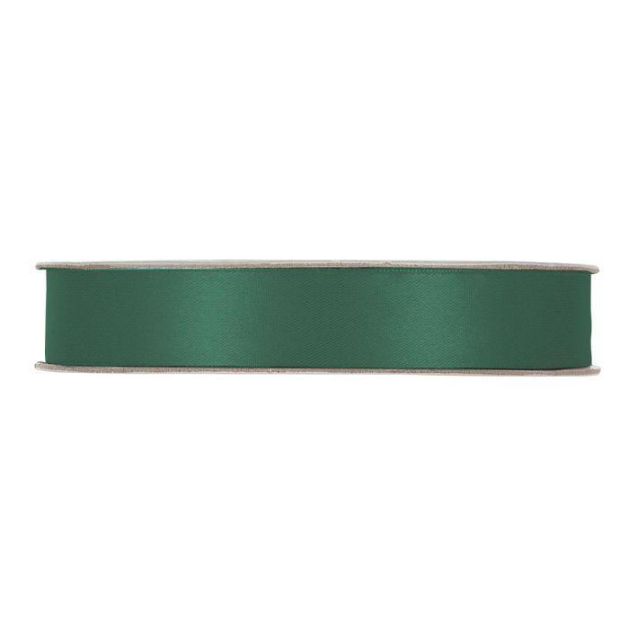 Satinband Mörkgrön En rulle med satinband