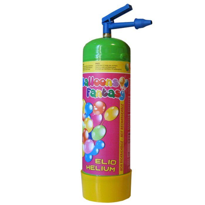 Ballonghelium En flaska med 10 liter helium till ballonger.