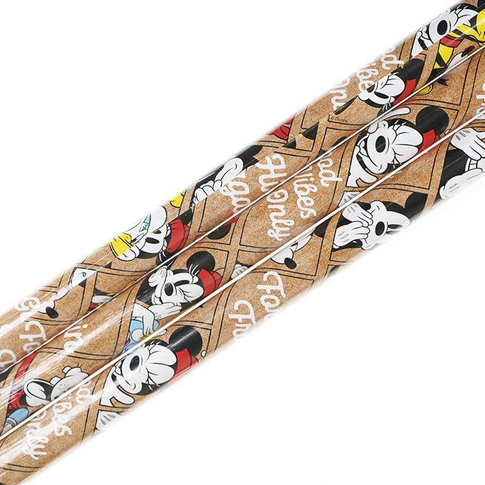 Presentpapper 70 x 200 cm rullar av presentpapper Disney Mimmi Musse Långben och kalle
