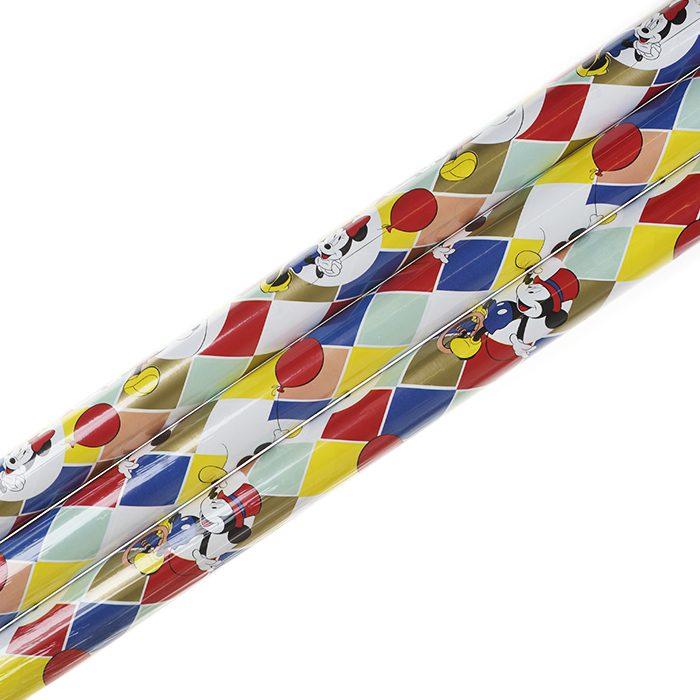 Presentpapper 70 x 200 cm rullar av presentpapper Disney Mimmi och Musse på tivoli