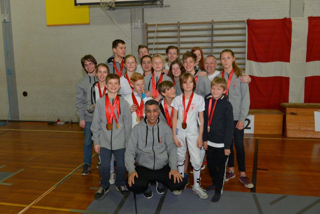 Roskilde vinder medaljer til Nordisk Mesterskab