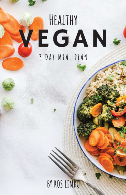 Healthy Vegan eBook