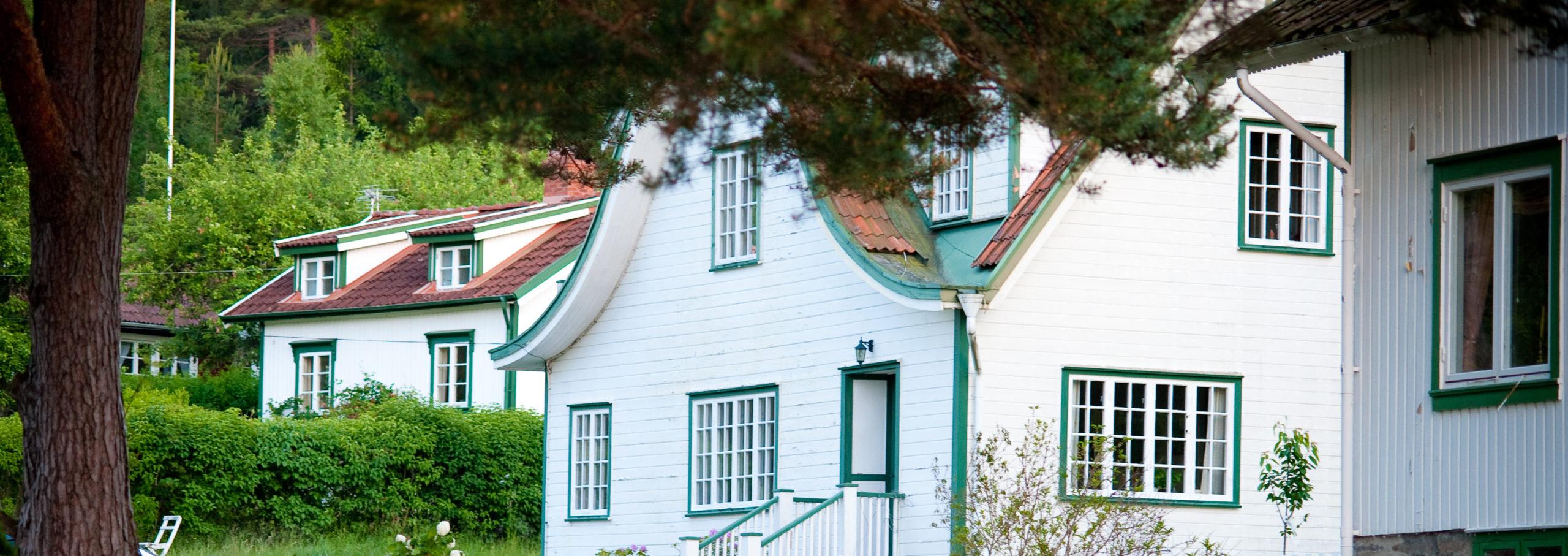 Hus på Rossö