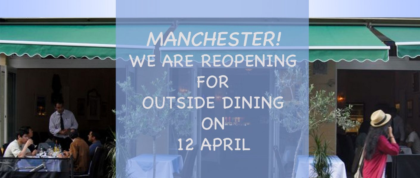 Rozafa Manchester reopens outdoors 12 April