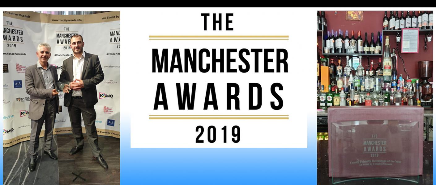 Rozafa Greek Restaurant wins Manchester Awards