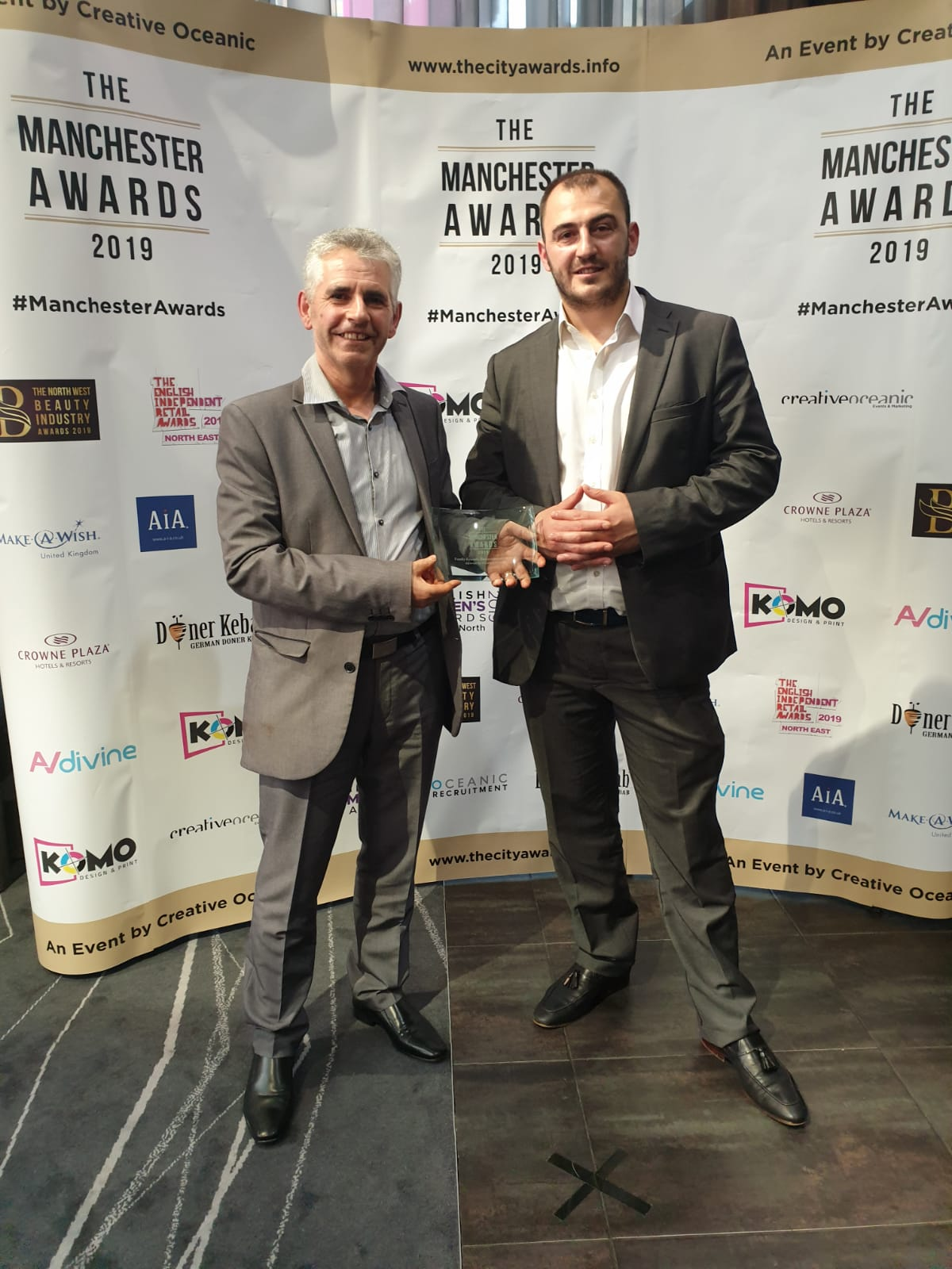 Rozafa Greek Restaurant wins Manchester Awards