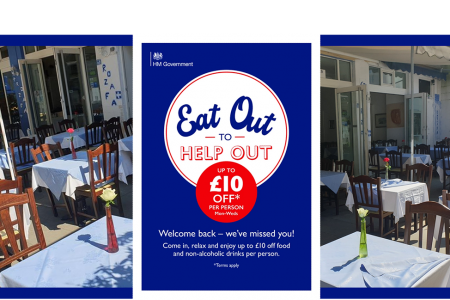rozafa greek restaurant eat out help out manchester outdoor dining