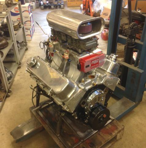Chevrolet 454 med lustgas