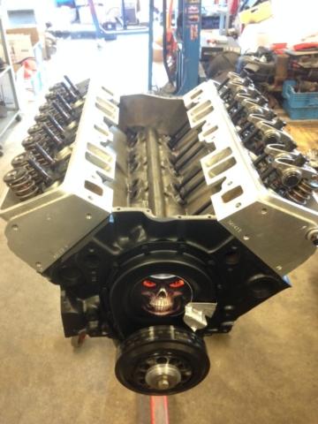 Chevrolet 383 för lustgas