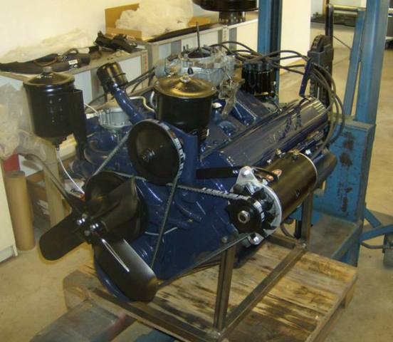 Cadillac 365 motor