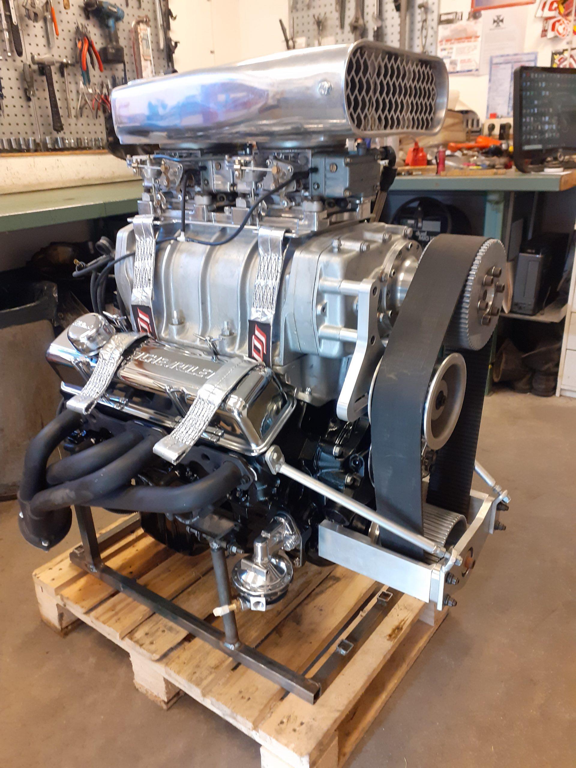 Chevrolet 350 med kompressor