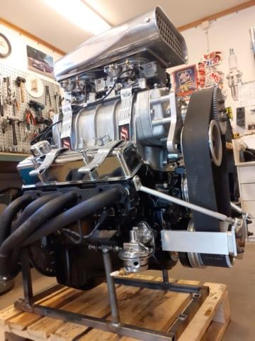 Chevy 350 6-71 kompressor
