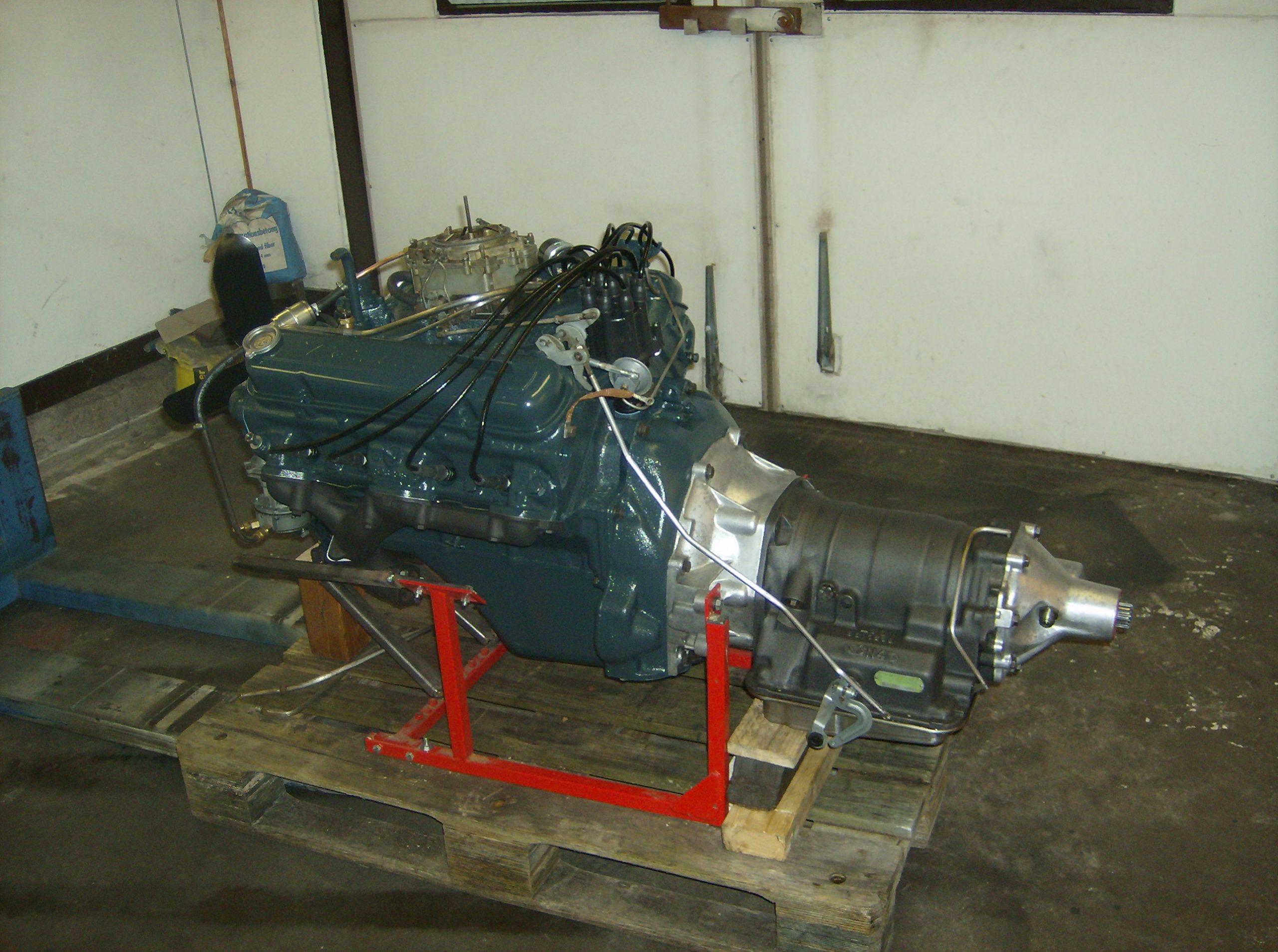 Pontiac 347 efter renovering av motor och låda