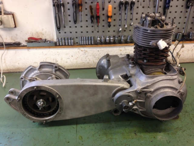 Motor till Heinkel Trojan