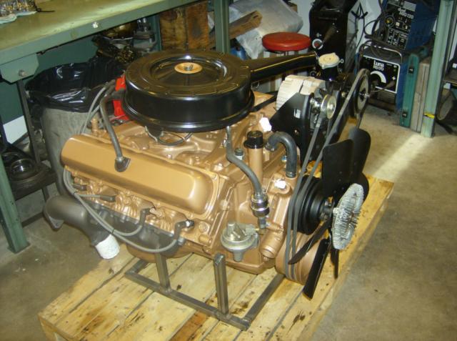 Oldsmobile 455 efter renovering