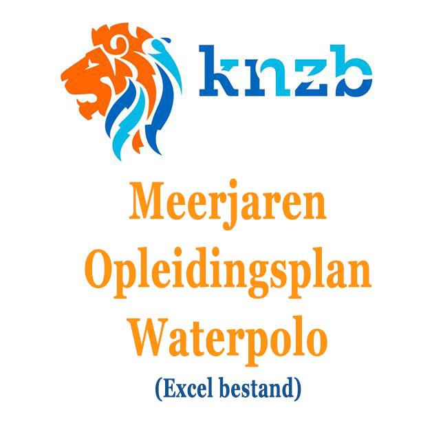 KNZB Meerjaren Opleidingsplan Waterpolo