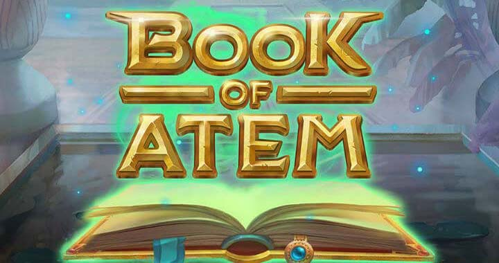 The online slot machine Book of Atem is incredible