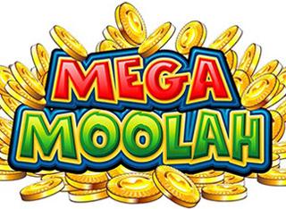 Mega Moolah slot wheel and huge jackpots
