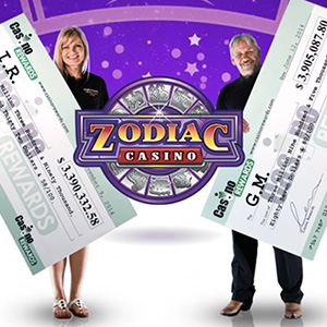 Mega Moolah Winners at Zodiac Casino